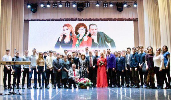 На концерте Ядвиги Поплавской и Анастасии Тиханович